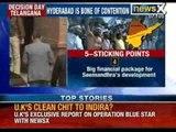 Telangana bill : Demand to split revenues generated from Hyderabad - NewsX