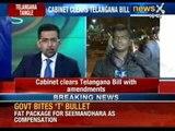 Breaking News: Union Cabinet clears Telangana Bill - NewsX
