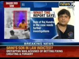 Allegations of betting and spot fixing proved against Gurunath Meiyappan - NewsX
