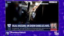 Bilal Hassani fait le show dans un avion !