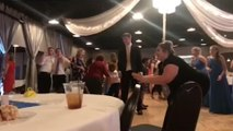 'Dirty Dancing' wedding dance goes wrong