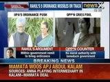 Rahul Gandhi's anti graft bills on cabinet agenda