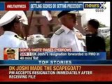 Navy Chief Admiral DK Joshi resigns over the accident