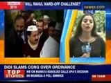 Major face off in UP between Rahul Gandhi and Arvind Kejriwal