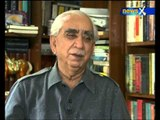 Exclusive interview with Jaswant Singh