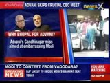 Is LK Advani changing seat or changing camp ?