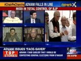 India Debates: Has Advani's revolt ended up strengthening Modi or has it dented his image ?