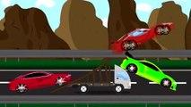 Sport course voiture | Auto de la bande dessinée de course de voiture | Tuning Conte de Voitures