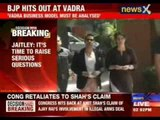 Arun Jaitley in his blog slams Robert Vadra
