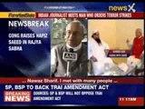 Congress raises Hafiz Saeed in Rajya Sabha