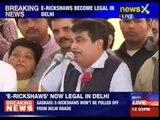 E-rickshaws become legal in Delhi