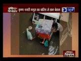 कृष्ण नगरी मथुरा का बारिश से हाल बेहाल, कार से परिवार को सुरक्षित निकला गया