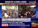 BMC officials reach Campa Cola society to evict illegal residents