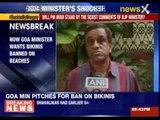 Goa minister wants bikinis banned on beaches