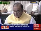 AK Antony slams Jaitley's FDI decision for defence