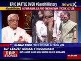 Natwar Singh: Rahul is a part-time politician stuck in 24x7 job