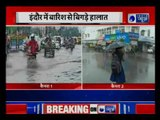Madhya Pradesh: Traffic and waterlogging problems due to heavy rainfall in Indore