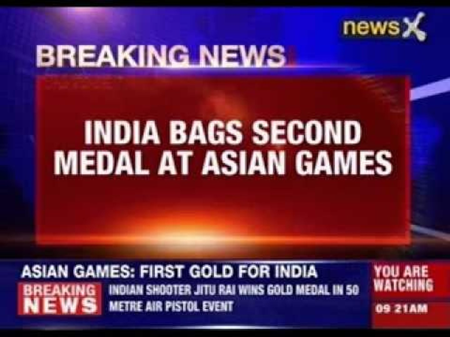 India bags second medal at Asian games