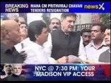 Maharashtra CM Prithviraj Chavan tenders resignation