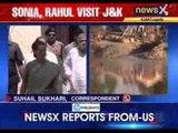 Sonia Gandhi, Rahul on a 2-day visit to Jammu and Kashmir
