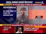 NIA team formally takes over Burdwan blast case