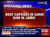 Boat capsizes in Garhi dam in Bihar