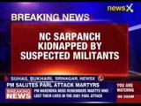 J&K: NC Sarpanch kidnapped from Sopore