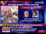 BJP dares Mamata to hold early polls