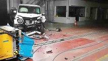 La Mercedes Classe G obtient cinq étoiles aux crash-tests Euro NCAP