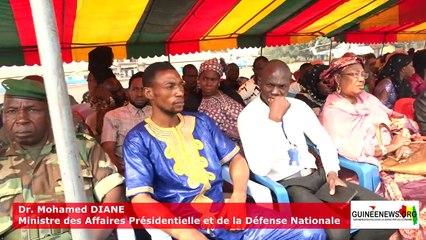 Conakry: les trois soldats tués au Kidal regagnent leurs derrières demeures
