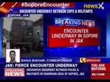 Encounter underway in Sopore in Jammu and Kashmir