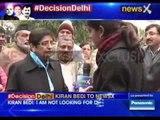Kiran Bedi says I believe in delivery of services, Kejriwal believes in debate