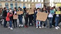 Manif des lycéens pour le climat