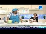 مطبخ 10/10 - الشيف ايمن عفيفي ونيفين أبو شالة - طريقة عمل قطائف بالقشطة