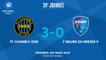 J24 : FC Chambly-Oise - F. Bourg-Péronnas 01 (3-0), le résumé