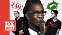 """Young Thug Says MGK Murdered Eminem With """"Rap Devil"""""""