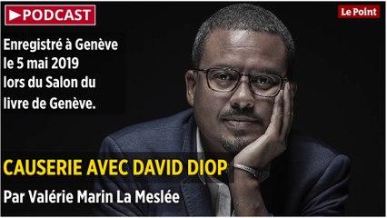 PODCAST. Causerie avec David Diop