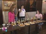 Vinegar tasting with Kris, Darla & K