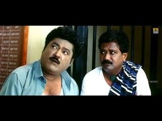 Jaggesh And Tabla Nani With Lady Constable - Comedy Scene | Manjunatha BA LLB Movie | Jhankar Music