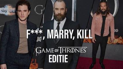 Game of Thrones experts spelen F***, Marry, Kill (deel 1)