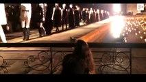 Un gato se cuela en un desfile de Christian Dior y orina a una asistente