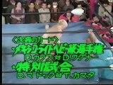 Jumbo Tsuruta vs. Dick Murdoch (AJPW Excite Series 1980 - Tag 16)