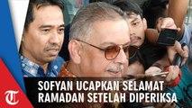 Diperiksa KPK, Dirut PLN Nonaktif Sofyan Basir Ucapkan Selamat Ramadan
