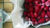 Crumble aux fraises et aux framboises au Monsieur Cuisine pas à pas