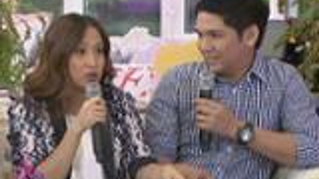Jolina shares how she and Mark met each other