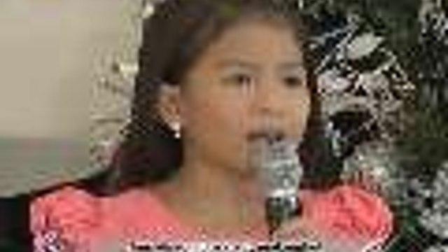 Lyca Gairanod sings 'Miss Kita Kung Christmas'