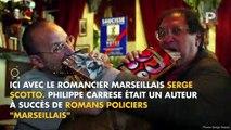 """Philippe Carrese était une véritable """"figure"""" de Marseille, une référence à la fois intellectuelle et populaire"""