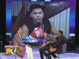 "Albert sings ""Be My Lady"" with Martin Nievera"