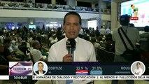 Contienda electoral panameña muy reñida entre Cortizo y Roux