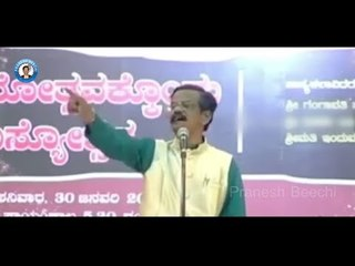 Pranesh Punch Comedy ( Live Show 8 ) | Best Kannada Comedy Jokes | Live Show Of Pranesh Beechi